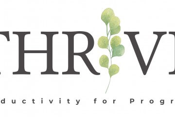 """Thrive - productivity for progress"" training opportunity"