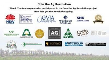 Thank You to Business who supported #jointheagrevolution